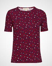 Michael Kors Hearts Forever Prnt T T-shirts & Tops Short-sleeved Rød MICHAEL KORS