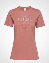 Boss Casual Wear Tecut T-shirts & Tops Short-sleeved Rosa BOSS CASUAL WEAR