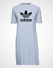 Adidas Originals Tee Dress Kort Kjole Blå ADIDAS ORIGINALS