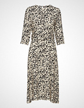 Gina Tricot Helga Dress Knelang Kjole Creme GINA TRICOT