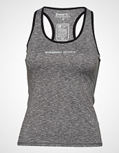 Superdry Superdry Core Gym Vest T-shirts & Tops Sleeveless Grå SUPERDRY