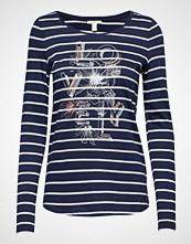 Esprit Casual T-Shirts T-shirts & Tops Long-sleeved Blå ESPRIT CASUAL