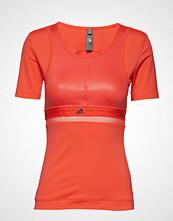 Adidas by Stella McCartney Run Tee T-shirts & Tops Short-sleeved Oransje ADIDAS BY STELLA MCCARTNEY