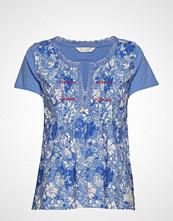 Odd Molly Blossom Boss Top T-shirts & Tops Short-sleeved Blå ODD MOLLY