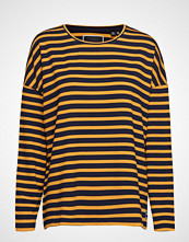 Superdry Ashby Stripe Long Sleeve Top T-shirts & Tops Long-sleeved Multi/mønstret SUPERDRY
