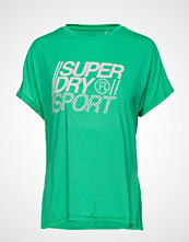Superdry Sport Core Loose Tee T-shirts & Tops Short-sleeved Grønn SUPERDRY SPORT