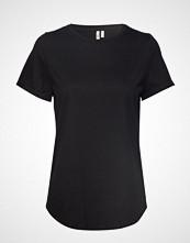 Banana Republic Supima® Cotton Crew-Neck T-Shirt T-shirts & Tops Short-sleeved Svart BANANA REPUBLIC