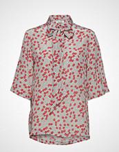 nué notes Sophia Shirt Bluse Kortermet Multi/mønstret NUÉ NOTES
