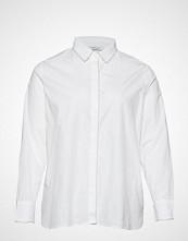 Violeta by Mango Metal Detail Shirt Langermet Skjorte Hvit VIOLETA BY MANGO