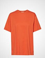 By Malene Birger Tsh5009s91 T-shirts & Tops Short-sleeved Oransje BY MALENE BIRGER