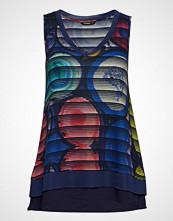 Desigual Ts Mineral T-shirts & Tops Sleeveless Multi/mønstret DESIGUAL