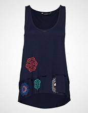 Desigual Ts Melisa T-shirts & Tops Sleeveless Blå DESIGUAL