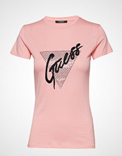 GUESS Jeans Ss Cn Guess Tee T-shirts & Tops Short-sleeved Rosa GUESS JEANS
