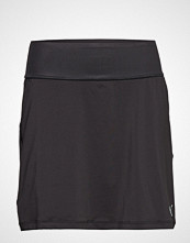 Puma Golf Pwrshape Solid Knit Skirt Kort Skjørt Svart PUMA GOLF
