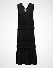 3.1 Phillip Lim Sl Pleated Vneck Dress Kort Kjole Svart 3.1 PHILLIP LIM