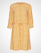 Signal Dress Knelang Kjole Gul SIGNAL