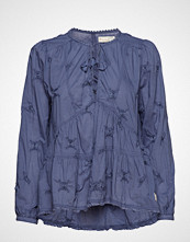Odd Molly Sweet Symbolism Blouse Bluse Langermet Blå ODD MOLLY