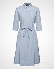 B.Young Byfarsara Shirt Dress - Knelang Kjole Blå B.YOUNG
