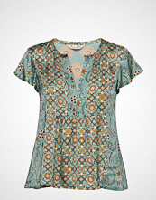Odd Molly Funky Belle Blouse Bluse Kortermet Blå ODD MOLLY