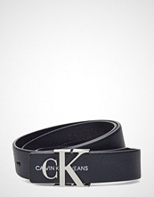 Calvin Klein J 3cm Mono Leather B Belte Blå CALVIN KLEIN