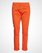 Please Jeans C Cotton Bukser Med Rette Ben Oransje PLEASE JEANS