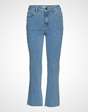 Notes du Nord Kayla Cropped Jeans S Jeans Sleng Blå NOTES DU NORD