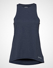 Skins Activewear Siken Womens Tank Top T-shirts & Tops Sleeveless Blå SKINS