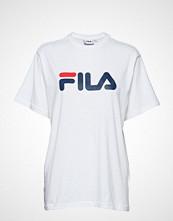 FILA Unisex Classic Pure Ss Tee T-shirts & Tops Short-sleeved Hvit FILA