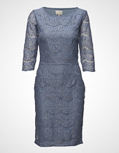 Minus Anastacia Dress Knelang Kjole Blå MINUS