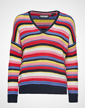Superdry Eloise Textured Open Knit Strikket Genser Multi/mønstret SUPERDRY