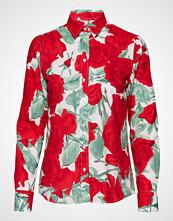 Gant O1. Rose Voile Shirt Langermet Skjorte Rød GANT
