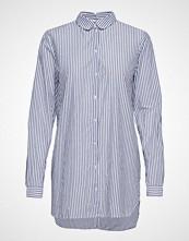 Selected Femme Slfcassy Ls Long Shirt W Langermet Skjorte Blå SELECTED FEMME
