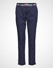 Esprit Casual Pants Woven Chinos Bukser Blå ESPRIT CASUAL