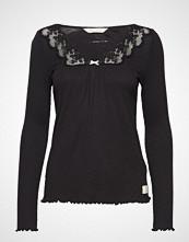 Odd Molly Rib-Eye L/S Top T-shirts & Tops Long-sleeved Svart ODD MOLLY