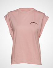 Ivyrevel Capped Sleeve Ivy Tshirt T-shirts & Tops Short-sleeved Rosa IVYREVEL