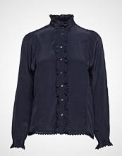 Scotch & Soda Party Shirt Bluse Langermet Blå SCOTCH & SODA