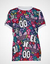 Adidas Originals 3 Stripes Tee T-shirts & Tops Short-sleeved Multi/mønstret ADIDAS ORIGINALS