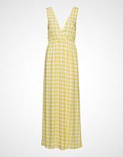 Ivyrevel Maxi Dress With Slit Maxikjole Festkjole Gul IVYREVEL