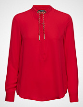 Marciano by GUESS Taylor Weaved Chain Top Bluse Langermet Rød MARCIANO BY GUESS