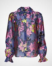 Stine Goya Autumn, 572 Daffodil Jacquard Bluse Langermet Multi/mønstret STINE GOYA
