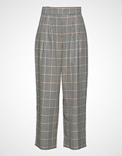 Just Female Holmes Wide Trousers Bukser Med Rette Ben Multi/mønstret JUST FEMALE