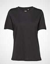 Minimum Kimma T-shirts & Tops Short-sleeved Svart MINIMUM