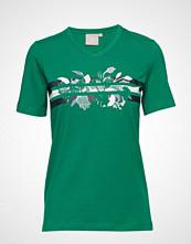 Brandtex T-Shirt S/S T-shirts & Tops Short-sleeved Grønn BRANDTEX
