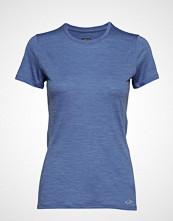 Icebreaker Wmns Amplify Ss Low Crewe T-shirts & Tops Short-sleeved Blå ICEBREAKER