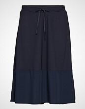 Marc O'Polo Jersey Skirt Knelangt Skjørt Blå MARC O'POLO