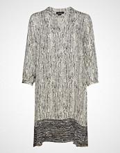 Sand 3685 - Dinora Dress Kort Kjole Grå SAND