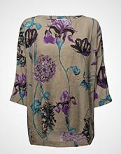 Masai Brandy Top Bluse Langermet Multi/mønstret MASAI