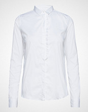 Mos Mosh Tilda Frill Shirt Langermet Skjorte Hvit MOS MOSH