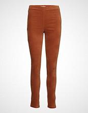Rosemunde Trousers Stramme Bukser Stoffbukser Oransje ROSEMUNDE