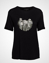 Soft Rebels Rebel T-Shirt T-shirts & Tops Short-sleeved Svart SOFT REBELS